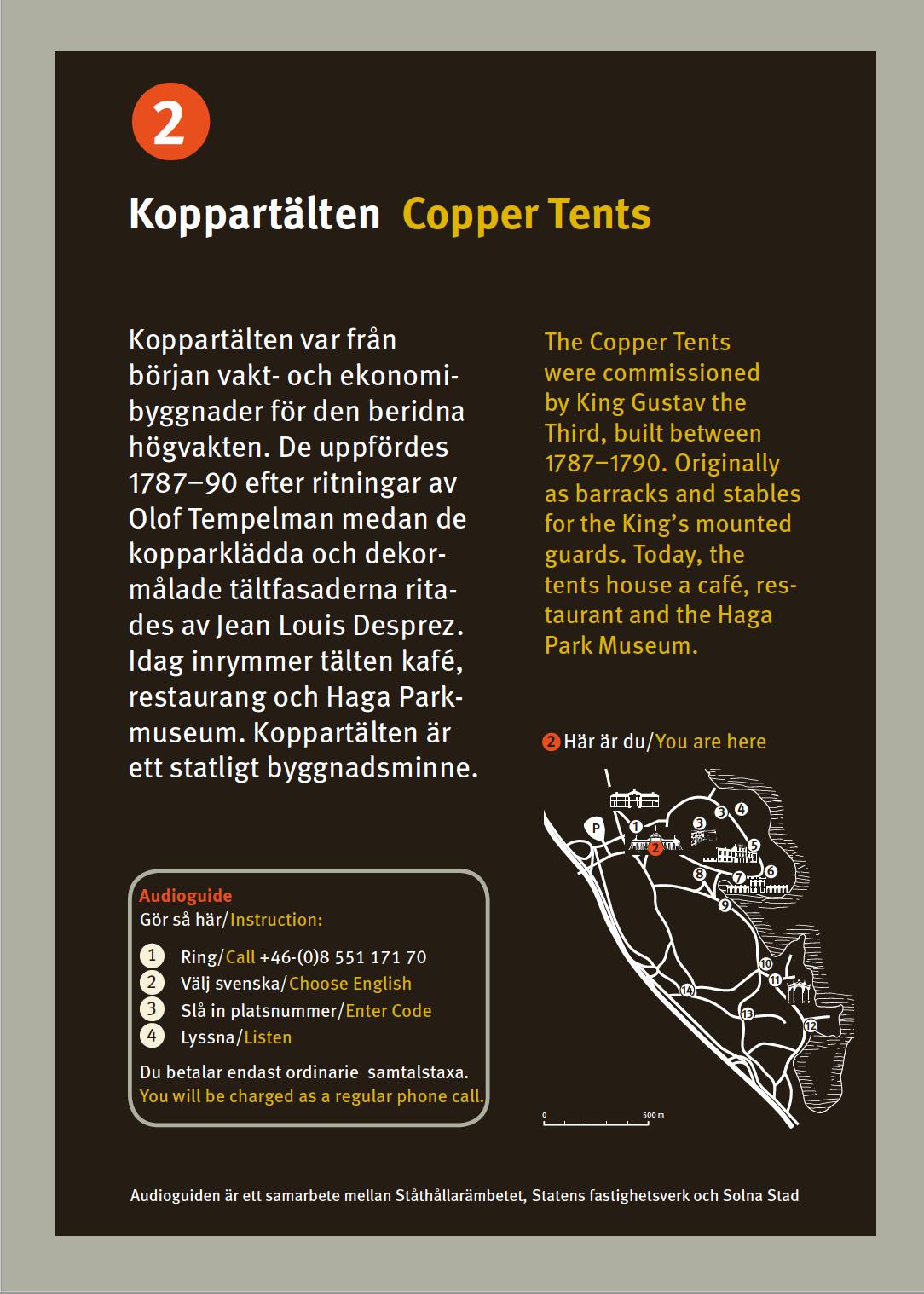 Statens Fastighetsverk skyltar vid Haga_