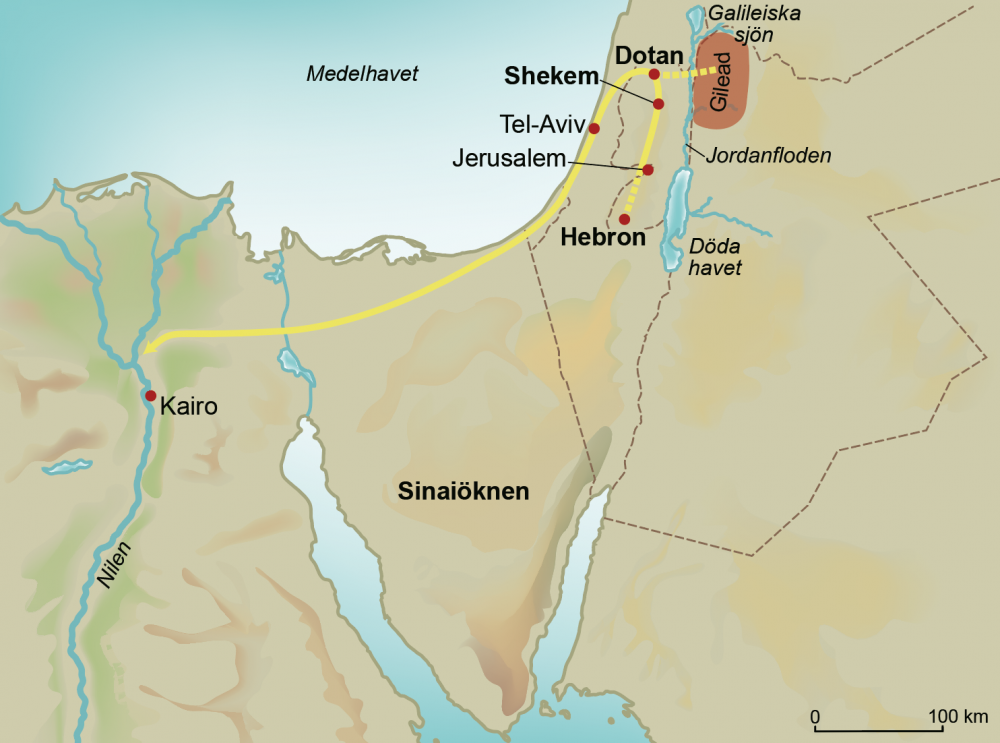 Josefs resa till Egypten